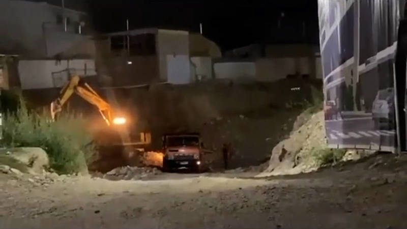 Жители Оша жалуются на строительные работы в ночное время (видео, фото)