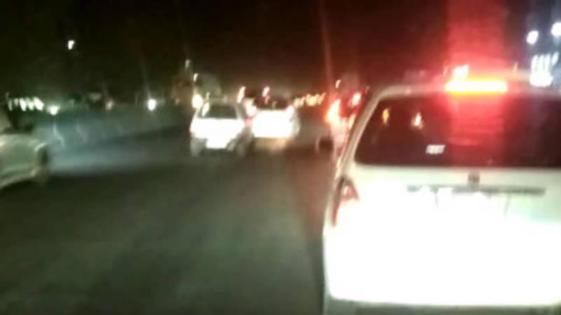 Водитель назвал причину пробок в районе Киркомстрома. Видео