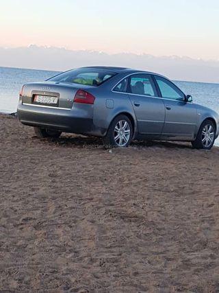 Парковка на пляже Бостери Иссык-Кульской области