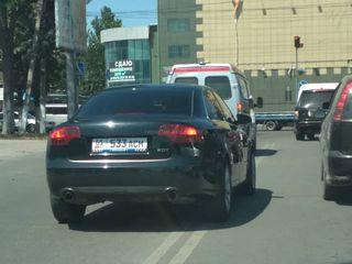 Выезд на встречную полосу на ул.Бакаева