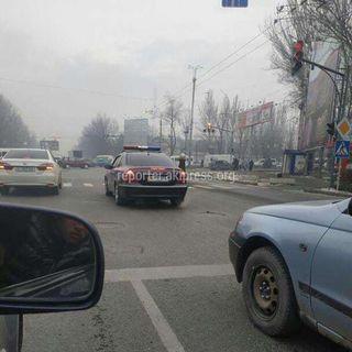 Алма -Атинская - Чуй MVD555M выезд за стоп линию