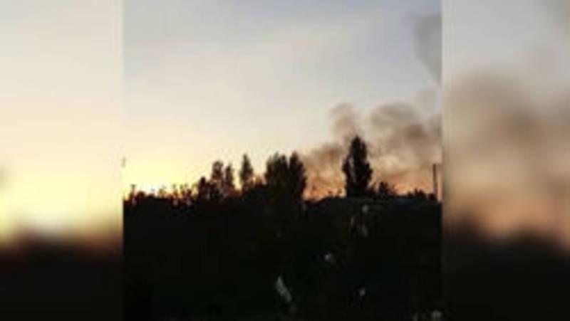На санитарном полигоне возле жилмассива Ак-Бата происходит самовозгорание в разных местах, - Госэкотехинспекция