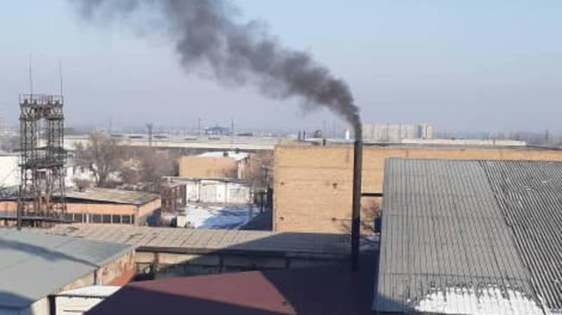 Несмотря на проверки Госэкотехинспекции, объект на ул.Валиханова до сих пор загрязняет воздух, - бишкекчанин
