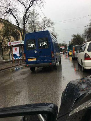 Езда по встречной полосе на ул.Московской