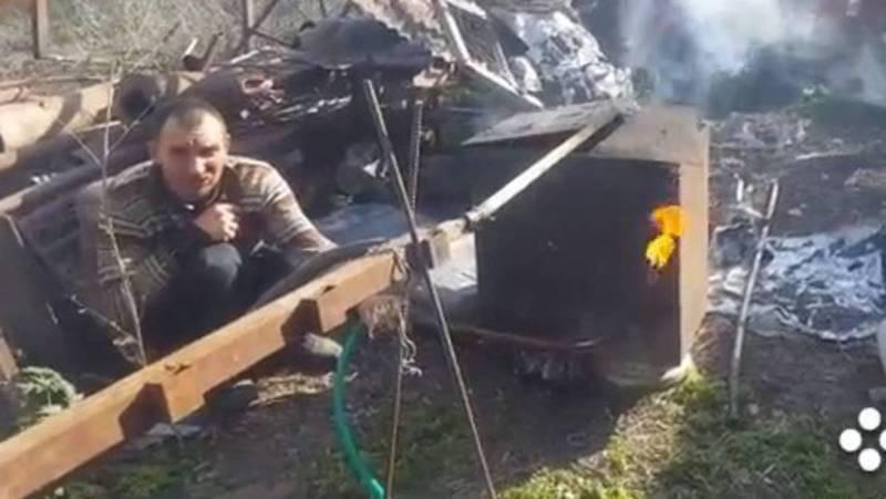 Чем заняться на карантине? Жители села Ленинское решили добывать биотопливо. Видео